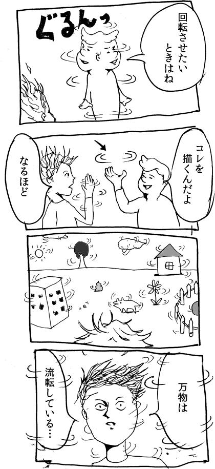 漫画塾(回転)