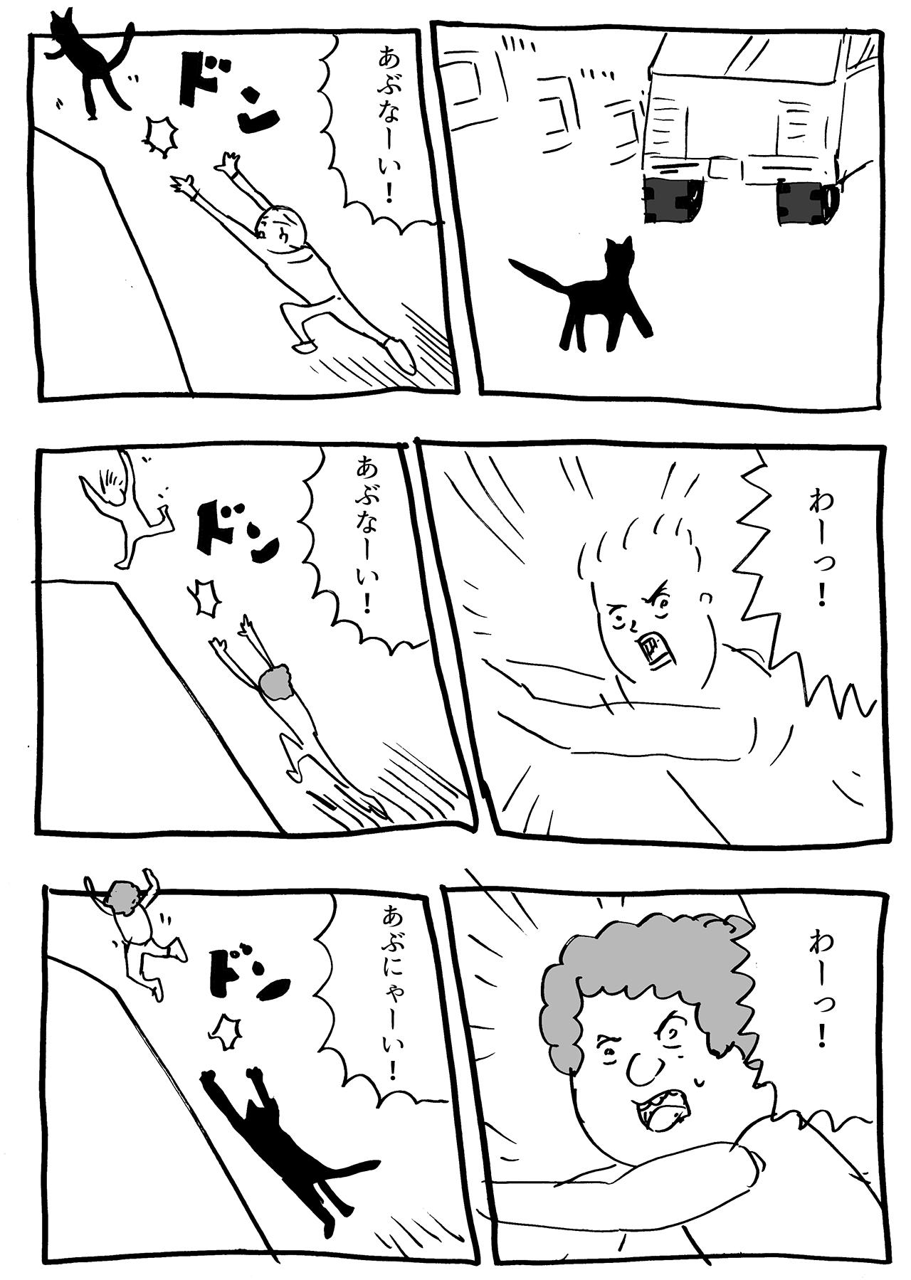 猫の恩返し